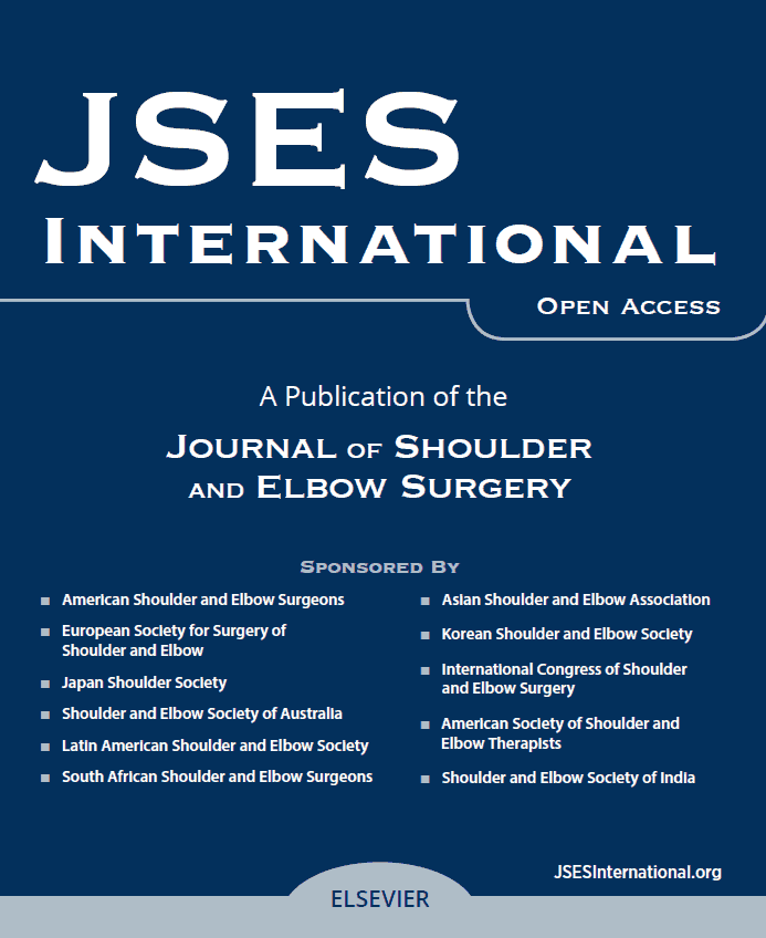 The Journal of Shoulder and Elbow Surgery Family of Journals