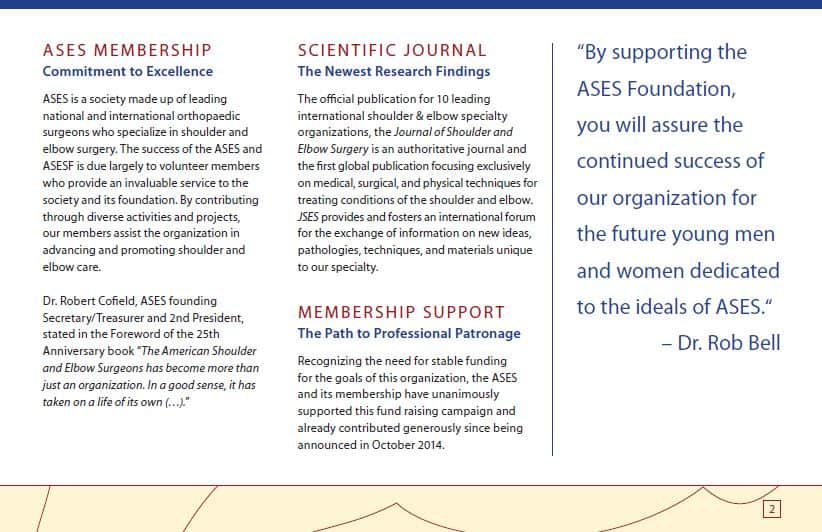 about ases foundation