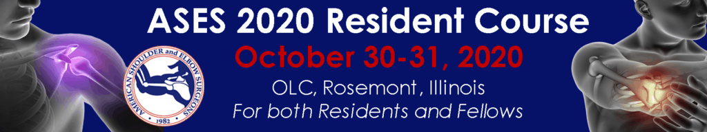 ASES 2020 Resident Course